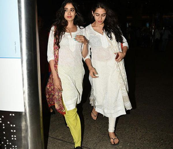 Janhvi Kapoor and Sara Ali Khan