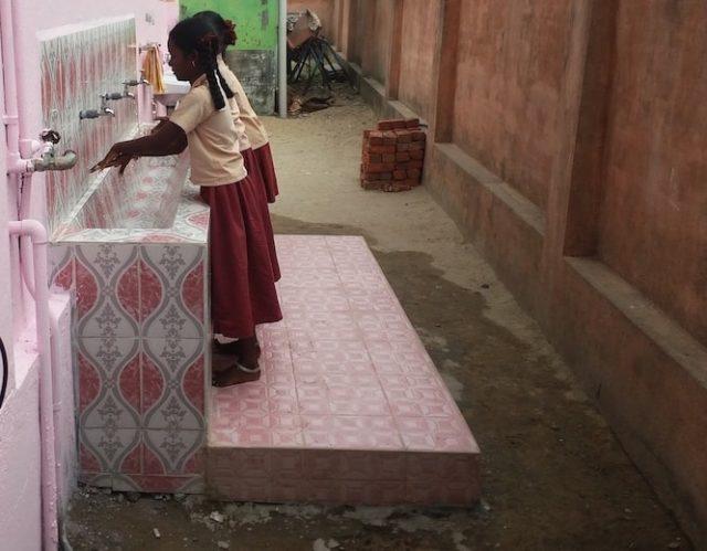 Change in regular handwashing behaviour in school children post SST intervention