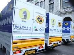 GAIL vehicles for waste collection