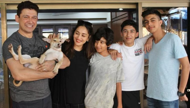 Desi pup Carmelo is family for Madhuri Dixit Nene, who posted a message on World Animal Day 2020