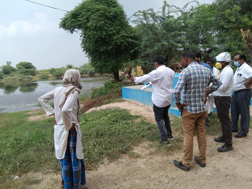 Nestle CSR Activities Water Conservation