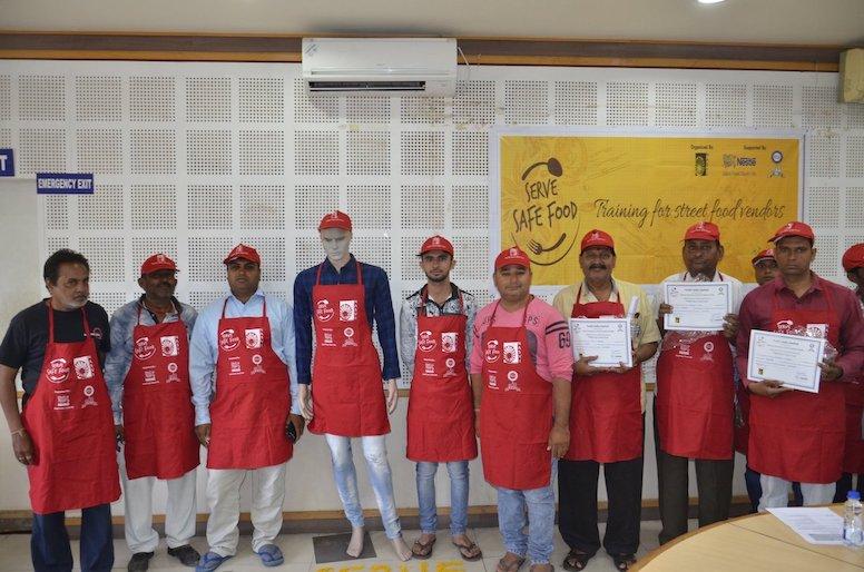Nestle CSR Serve Safe Food