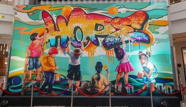 Phoenix Market City Artwork