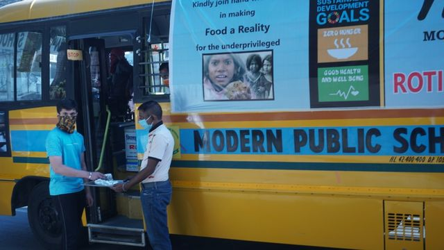 Roti Bank on wheels for World Food Day