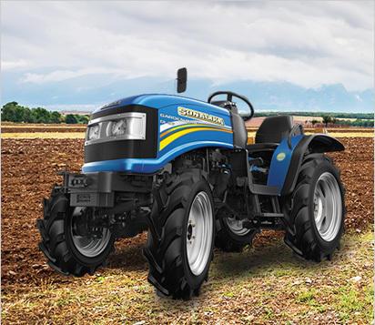 Tiger tractor