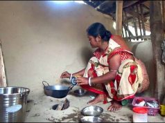 Woman in Household Work