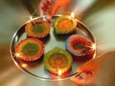 Diwali diyas - lights