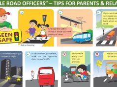 Honda instructors giving road safety training to kids digitally
