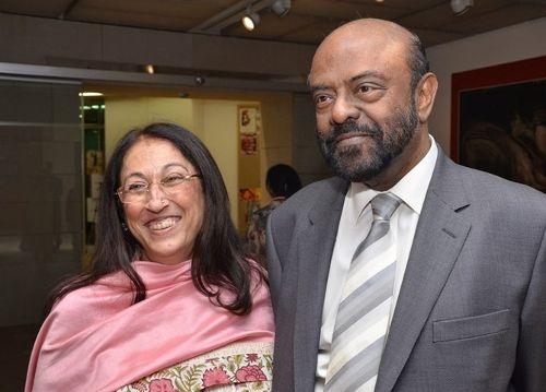 Kiran and Shiv Nadar