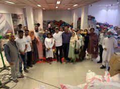 Team Telebu with Hyderabad Flood Vcitims