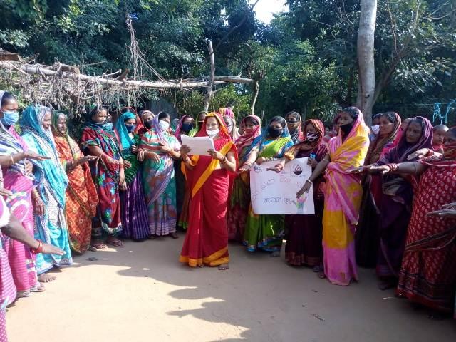 Women farm workers take oath
