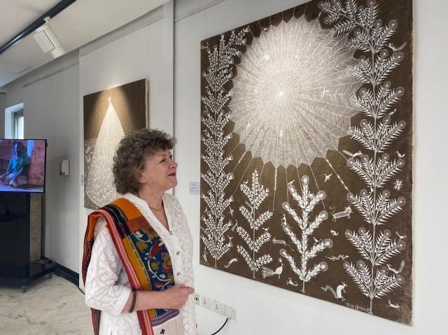 British Council warli art exhibition
