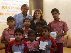 hearing-impaired children with Devangi Dalal