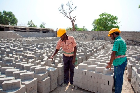 Vedanta Fly ash brick