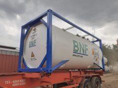 DBS Cryogenic oxygen tank