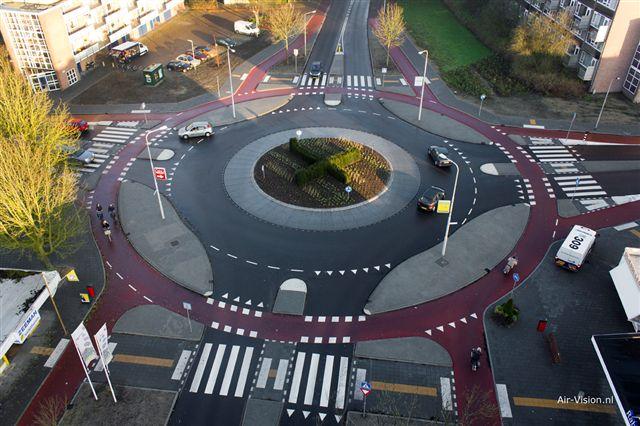 Amsterdam Cycling Roundabout