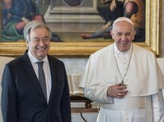 Zayed award - Pope Francis and Guterres
