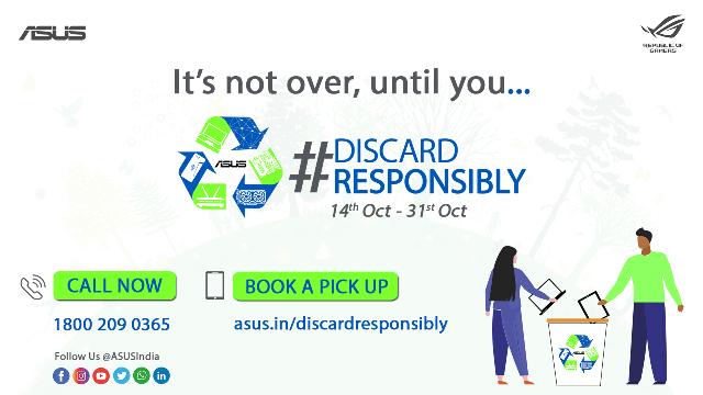 ASUS #DiscardResponsibly