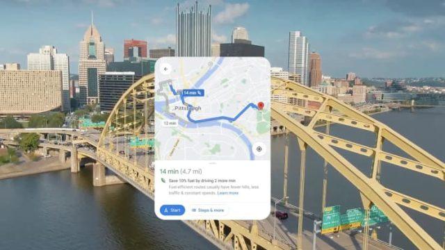 Google Maps - Eco Route