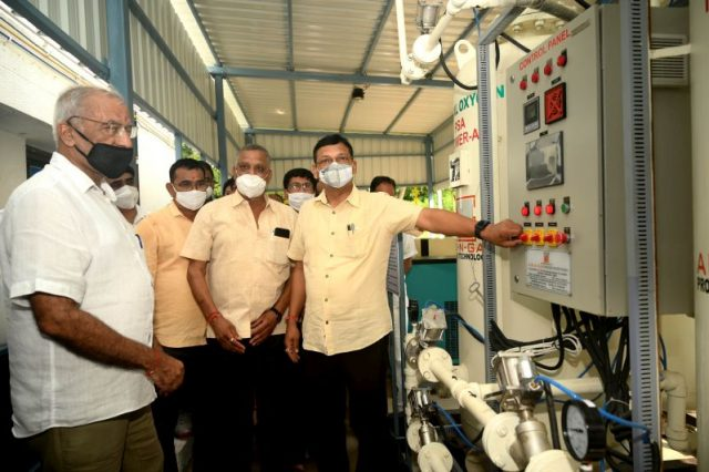 Oxygen Plant inaugurated at Kaka-Ba Hospital as part of Project SAAHAS