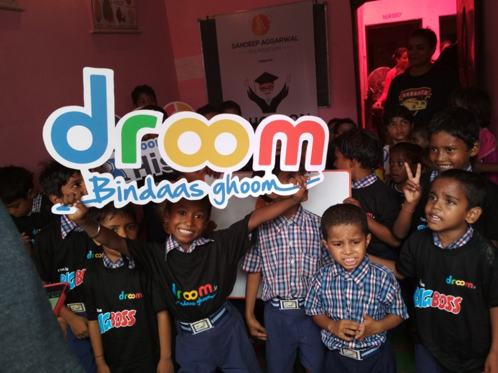 Sandeep Aggarwal Foundation's Unique campaign for underprivilege children supported by Droom