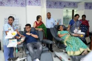 Narayana Health - SRCC Children's Hospital launches a dedicated blood bank for pediatric needs