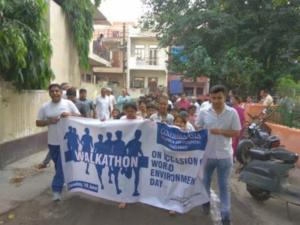 Columbia Asia Hospital Walkathon in Ghaziabad
