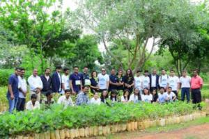 Plantation Drive conducted to check the dangerous pollution levels