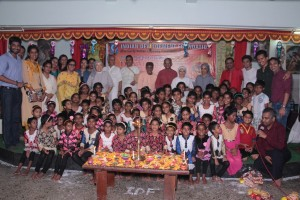 Diwali with Leprosy patients