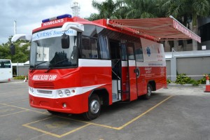 Infosys Foundation Donates Bloodbank Van to NIMHANS