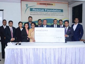 AccorHotels to support Rescue Foundation for the cause of Women Trafficking