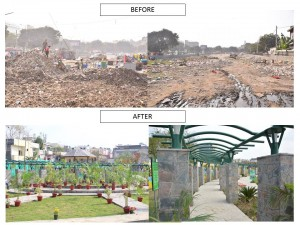 CITYWALK joined hands with SDMC to transform Jamun Wala Park.