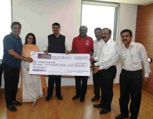 Swades Foundation Donated Funds To Maharashtra CM Relief Fund