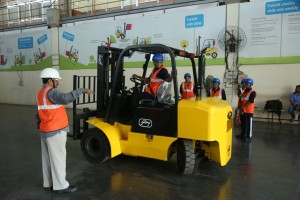 Godrej & Boyce's trained its first batch of women forklift drivers