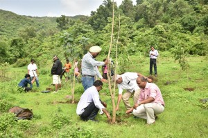 GVK MIAL Contributes to Green Army Tree Plantation Drive