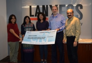 LANXESS associates with Teach For India
