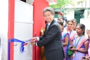MUFG and FICCI open new sanitation facilities in more than 100 schools for secondary girls in Chittoor, Andhra Pradesh
